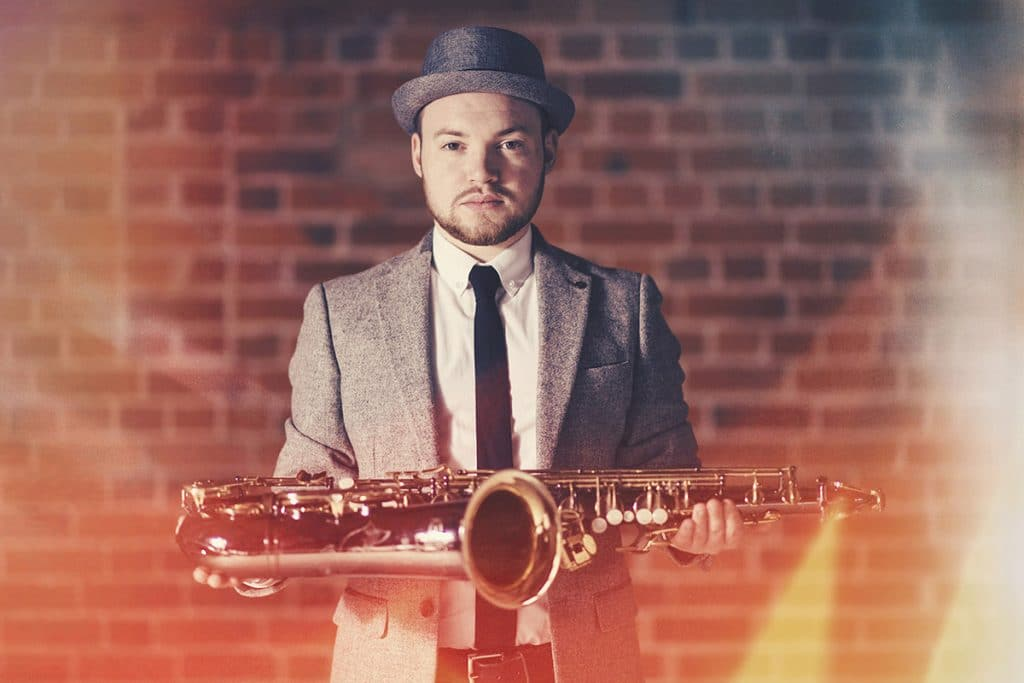 Wedding Event Saxophone Player Robert Benson